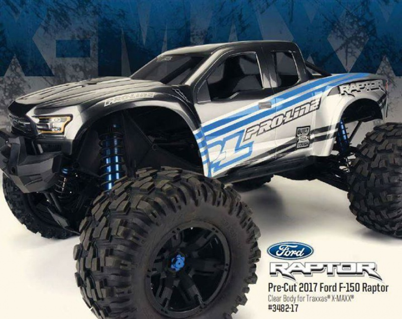 Carro Pro-Line F150 Raptor pour X-maxx 56056516938837102089748270699798587880407242670820n