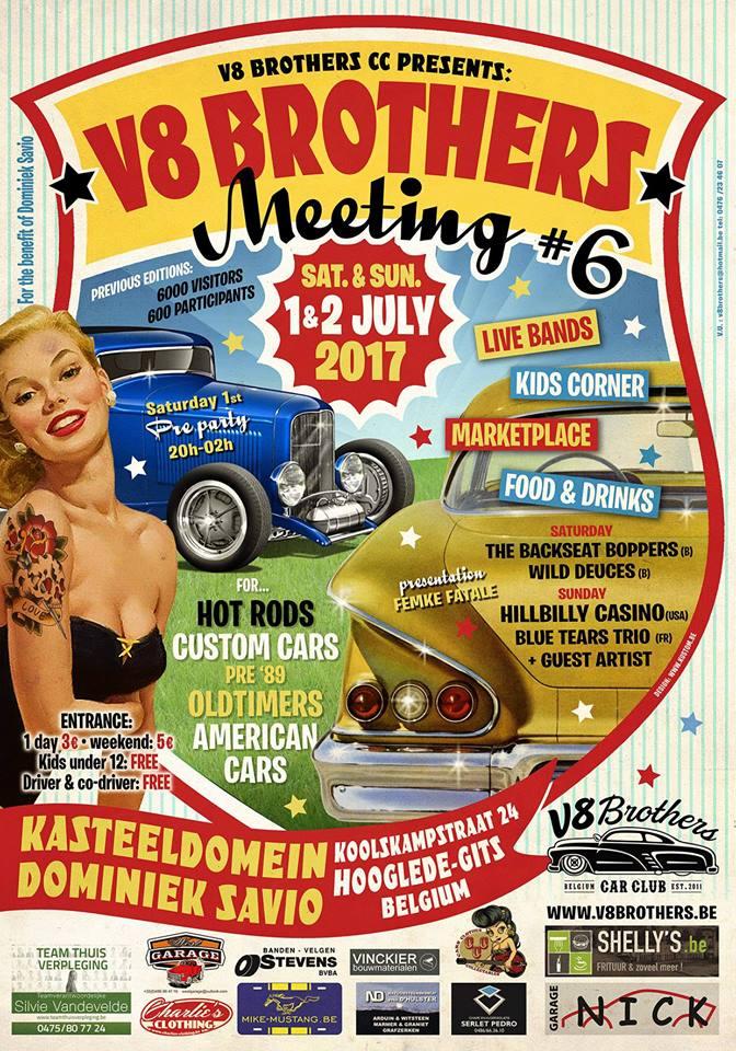 V8 Brothers Belgique  1/2 juillet 56083016864517102099530520755477794600191177521604n