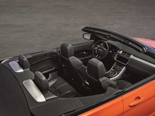 Range Rover Cabriolet, Un SUV Pour Toutes Les Saisons 561680RREVQConvertibleInterior09111501