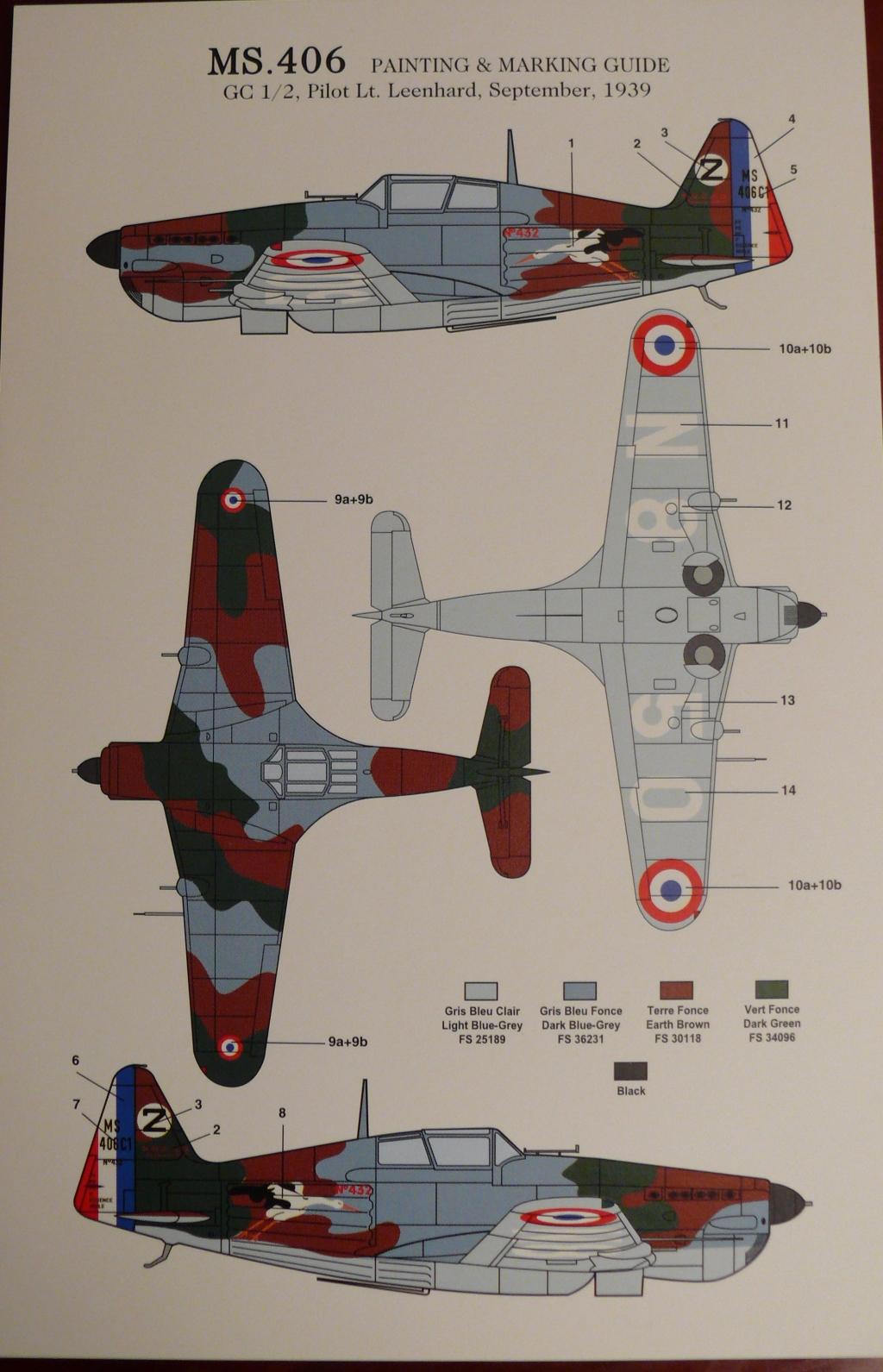 Morane Saulnier MS406 1/48 Classic Airframe 562523P1090595