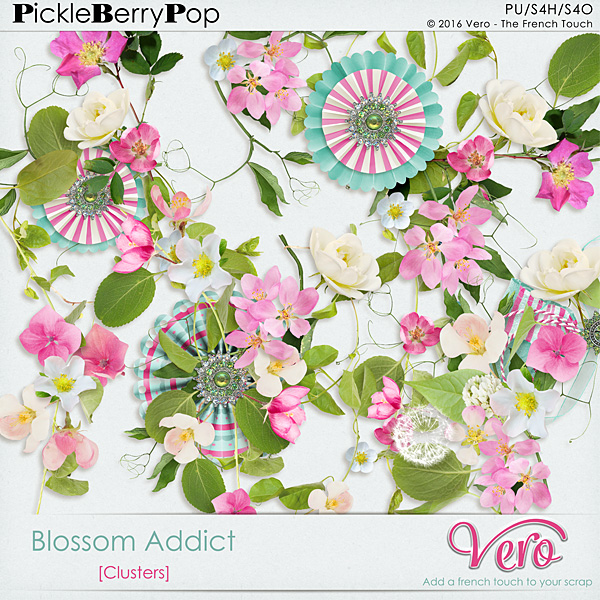 Véro - MAJ 02/03/17 - Spring has sprung ...  - $1 per pack  - Page 10 562688Veroblossomaddictclusterspv