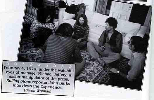 Interview avec John Burks pour Rolling Stone Magazine : 4 février 1970 562989test0121