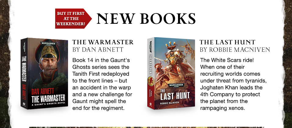 Programme des publications The Black Library 2017 - UK - Page 8 5631081907BLWeekenderpage03