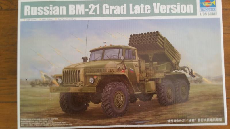 BM-21 GRAD 1/35 TRUMPETER 56355420161103121038