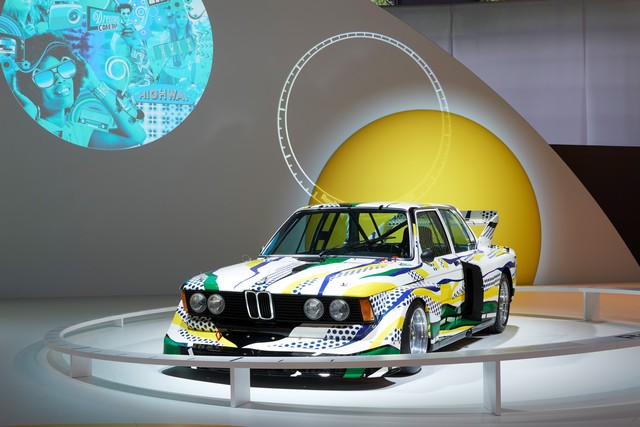BMW célèbre ses 40 ans de BMW Art Cars 564627P90185164
