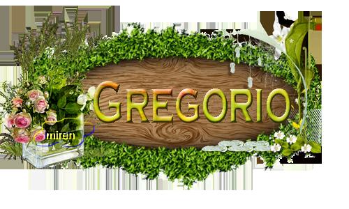 Nombres con la G 5651151Gregorio