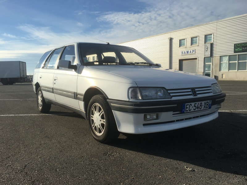 [PEUGEOT] 405 phase 2 Break 1.9L 115cv GRDT (Signatured, Clim OK)(New Culasse) On The Road Again - Page 2 565143IMG2768