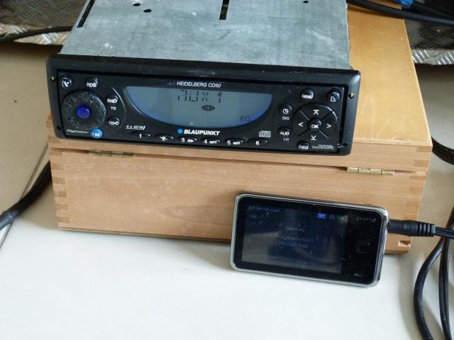 Smartphone sur autoradio vintage (1986/ 2002)? Acte 1 565716P1270166