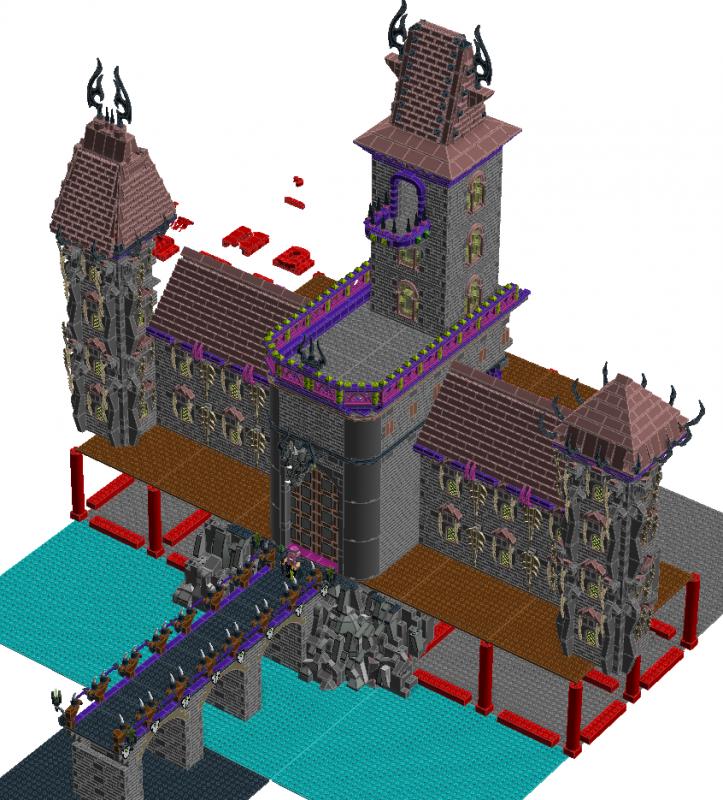 [MOC][LDD]Chateau de Ragana 5661884118005