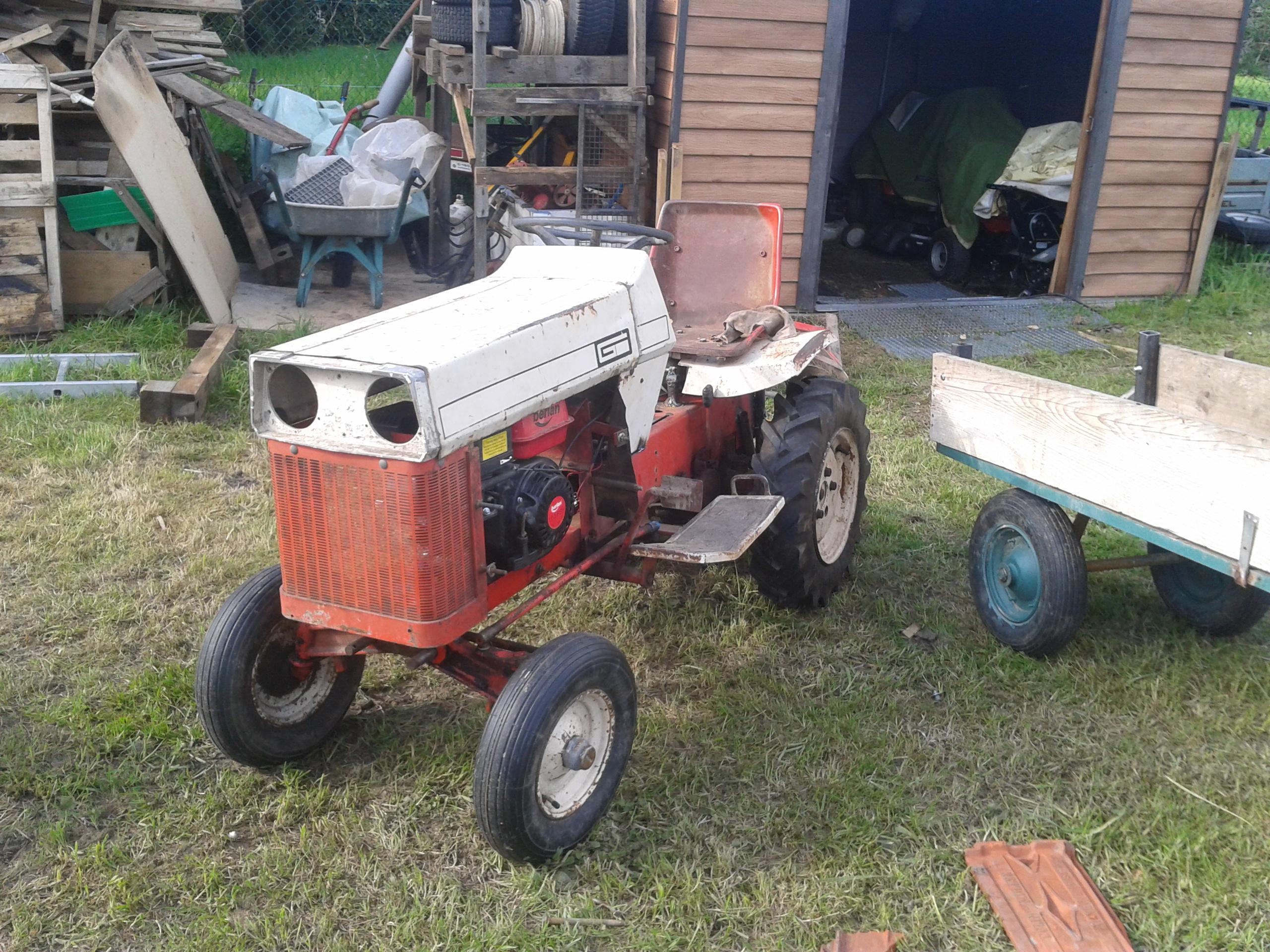 restauration micro tracteur motostandard 1017