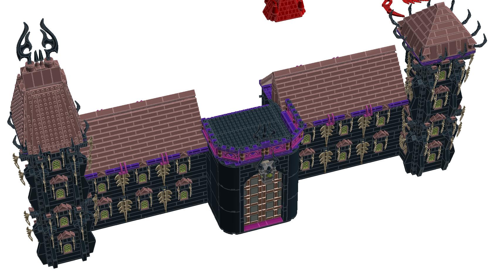 [MOC][LDD]Chateau de Ragana 5696484118002