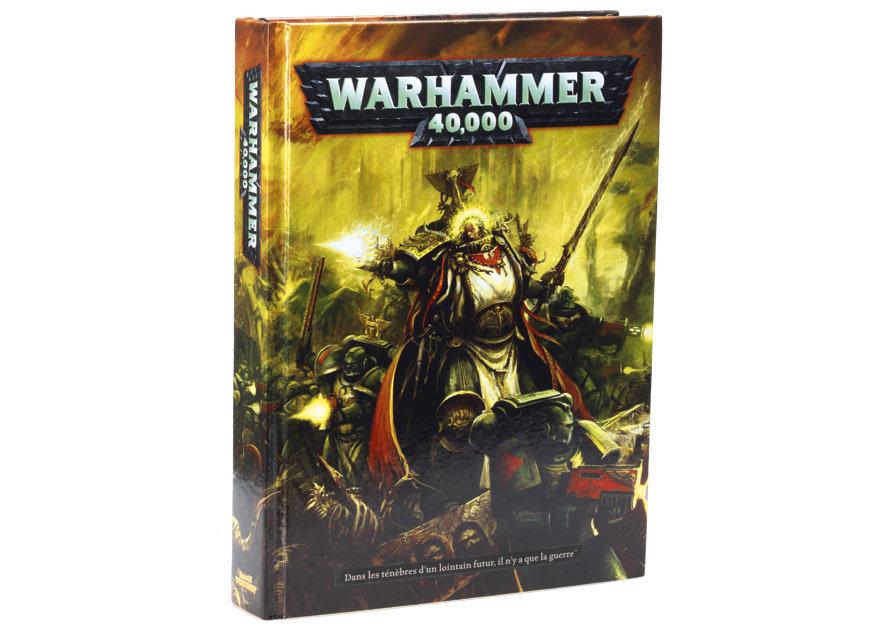 Le Livre de Règles de Warhammer 40,000 - V6 (en précommande) - Sujet locké 570819W40K1