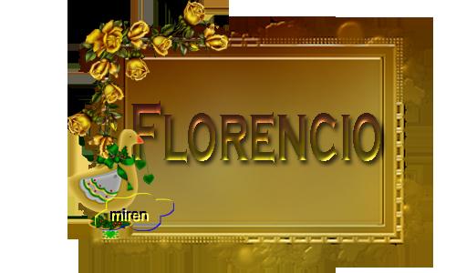 Nombres con F 5719022Florencio