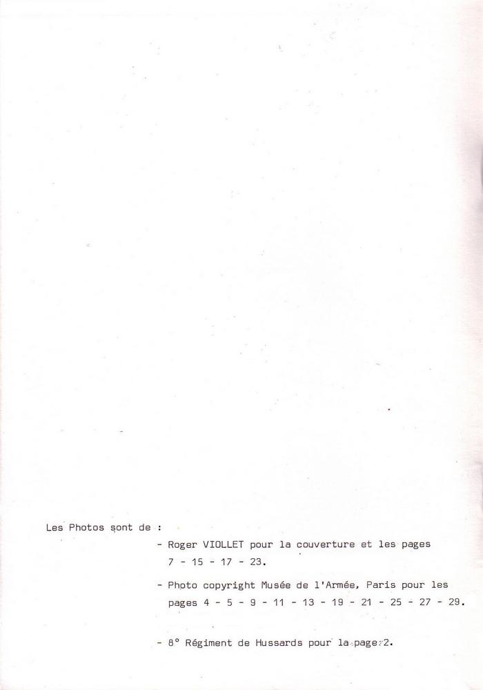 L'épopée Napoléonienne du 8 ème Régiment de Hussards  573459Historique8RHNB