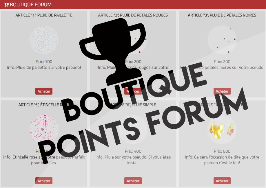 Boutique forum