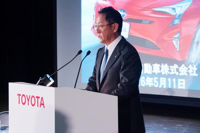Toyota Motor Corporation Publie Des Résultats En Progression Sur L'exercice Fiscal 2015-2016 574915201605110501