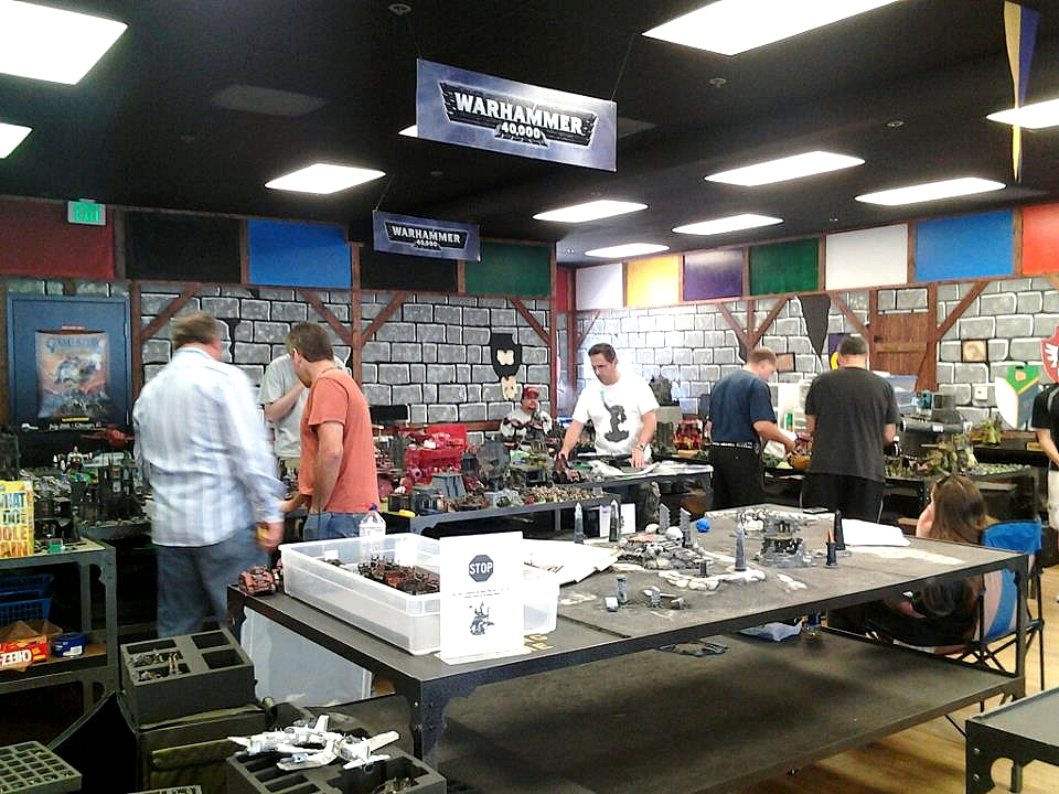 Les Centres Hobby Games Workshop en France et à travers le monde 574942LosAngelesBunker