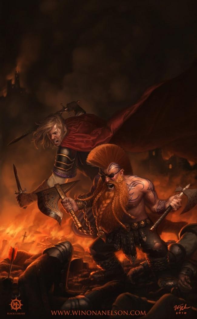 [Warhammer Fantasy Battle] Images diverses 575121Gotrek2