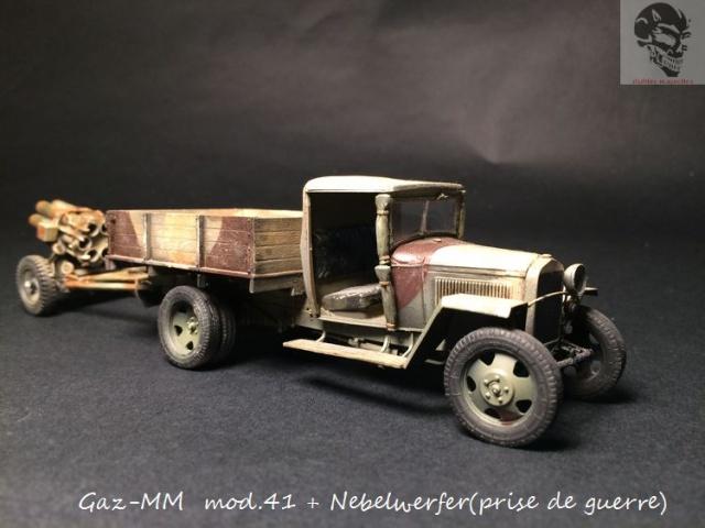 Gaz-MM mod 41 et Nebelwerfer (prise de guerre) - MiniArt + Dragon - 1/35 575684IMG5071