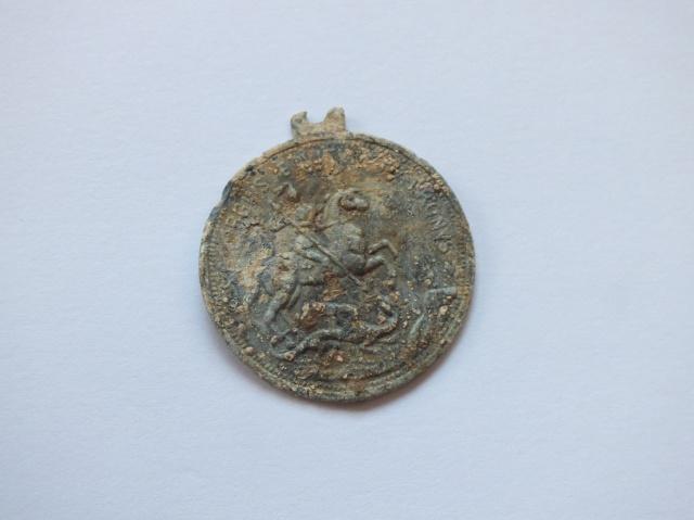 Médaille représentant St Georges 575911DSCF5777