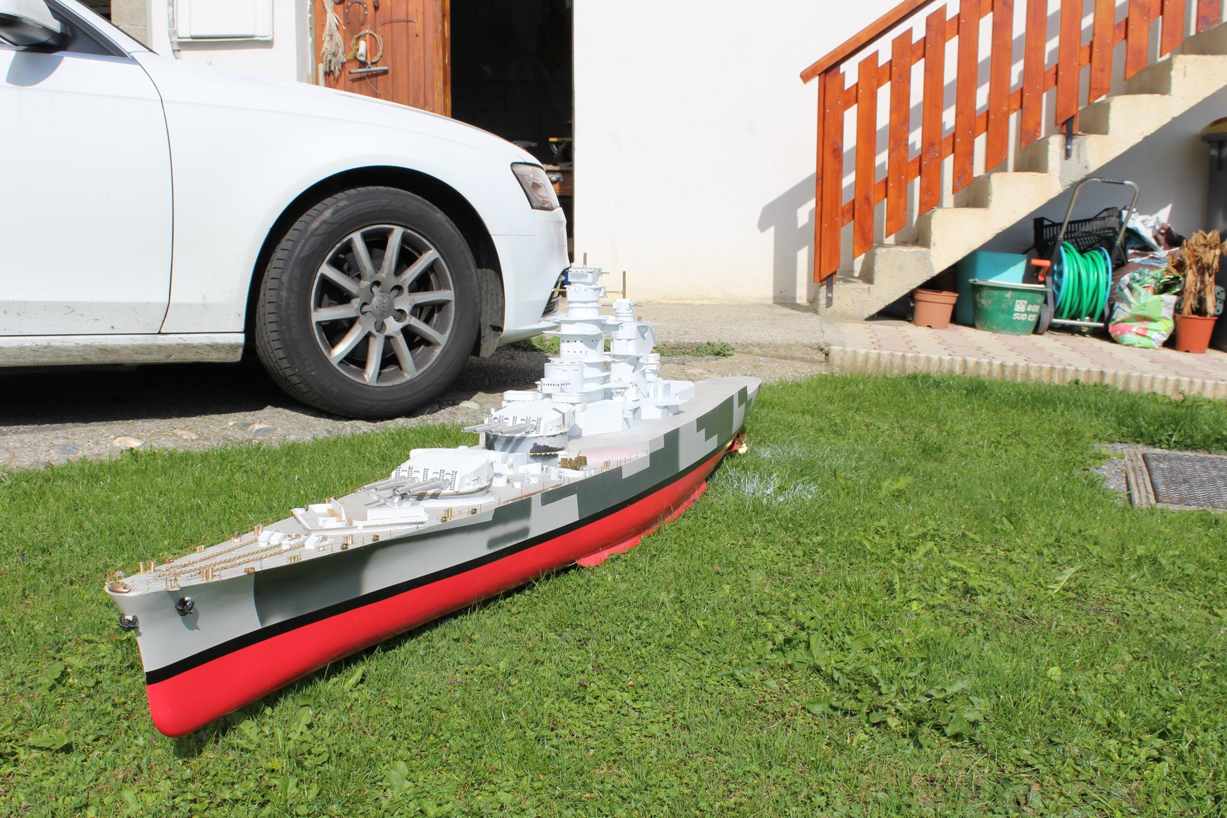 Cuirassé Richelieu 1/100 Vrsion 1943 sur plans Polonais et Sarnet + Dumas 576250IMG06312500x1667