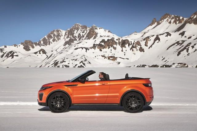 Range Rover Cabriolet, Un SUV Pour Toutes Les Saisons 576409RREVQConvertibleDrivingSnow09111503