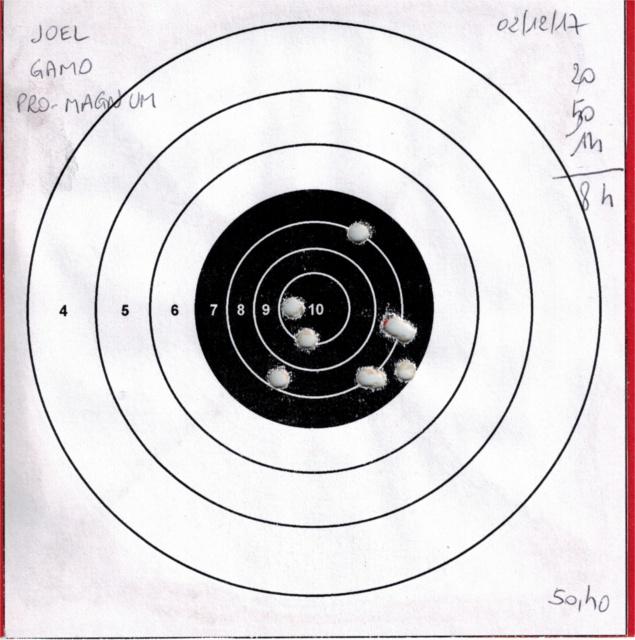 Tests plombs avec carabine Gamo Replay 576762GAMOREPLAYGAMOPROMAGNUM1