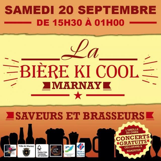 Fête de la Bière à Marnay : « bière ki cool » …c'était cool 577304bierekicool