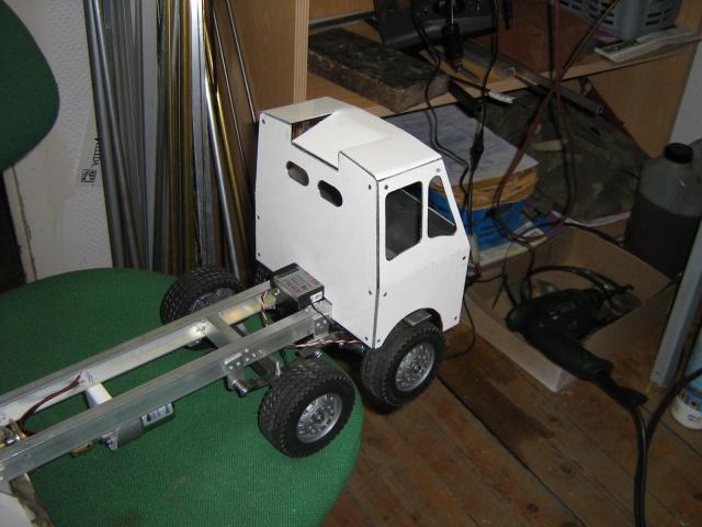 Autoportée Atkinson, camion grue à flèche treillage de dépannage époque 1940.  577896IMG0996