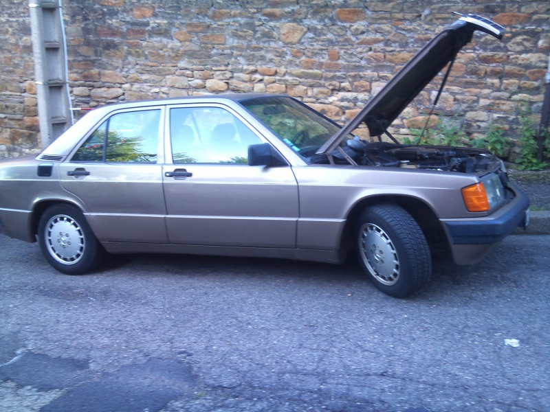 Mercedes 190 1.8 BVA, mon nouveau dailly - Page 9 578174DSC2528