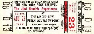 The New York Rock Festival (Singer Bowl, Flushing Meadow Park) : 23 août 1968 - Page 2 578851billet987n