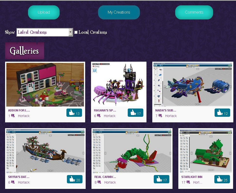 TUTORIEL : PARTAGER DES CREATIONS CHEZ LEGO 579140Sanstitre4