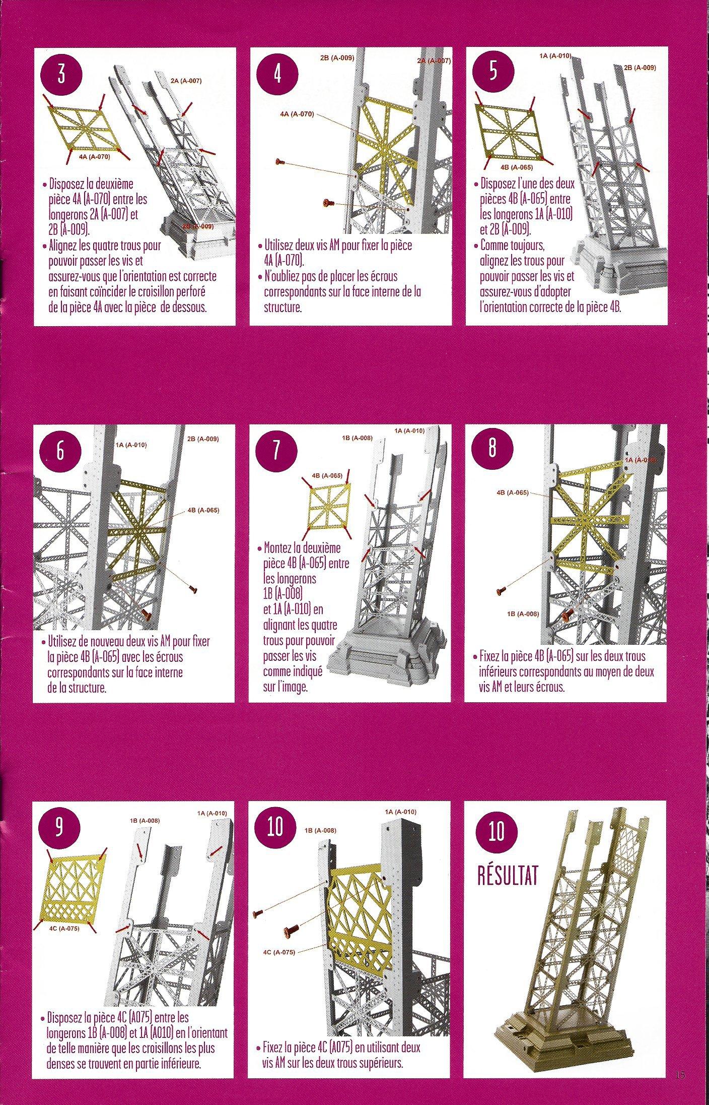 Numéro 4 - Je construis la Tour Eiffel - La tour Eiffel et la mode 57989304c