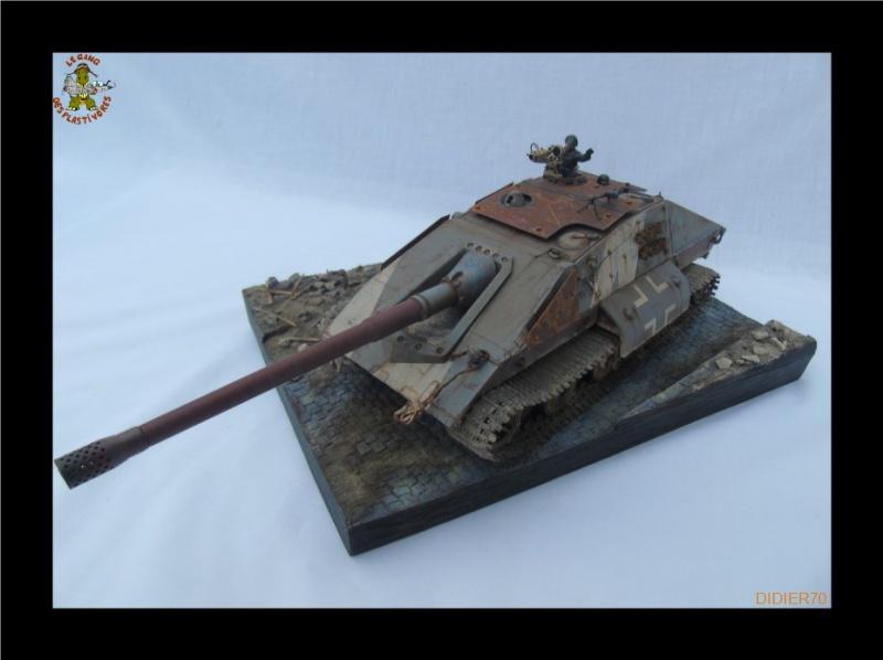 E-100 Jagdpanzer Krocodil 1/35 trumpeter 581474Sanstitre19jpgGF