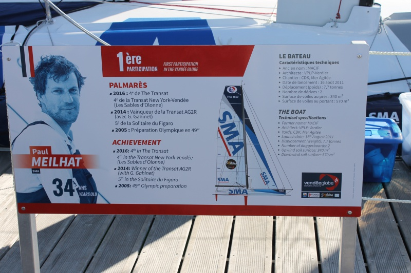 Visite du village et du ponton du Vendée Globe le 25/10/16 581745IMG4532