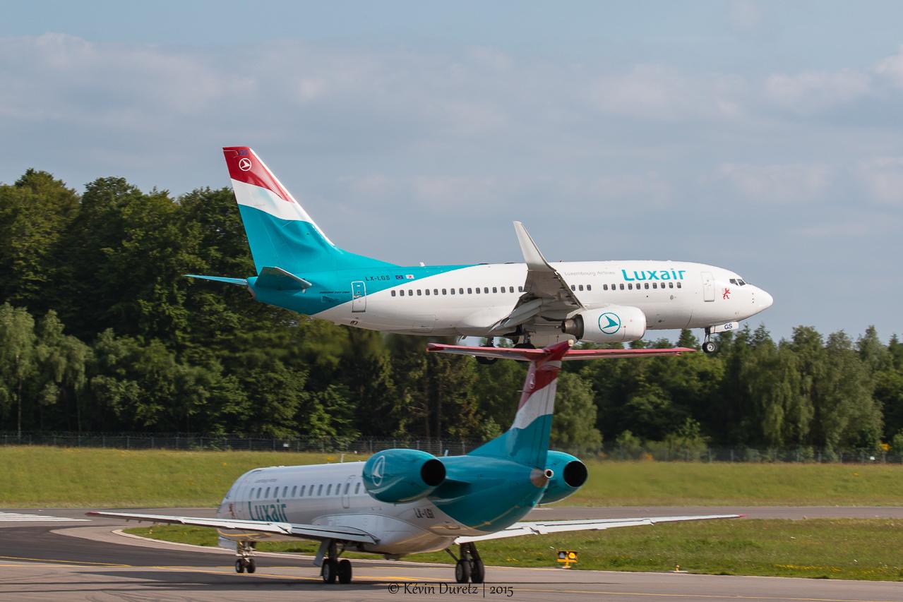 Aéroport de Luxembourg-Findel ELLX - 2015 582631IMG0195