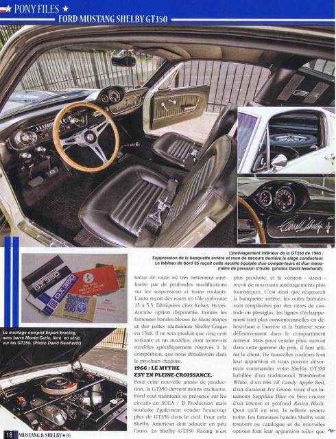 mustang shelby 350 GT 1965  kit monogram 1/24 . 582662pubmustangshelby350gt19653