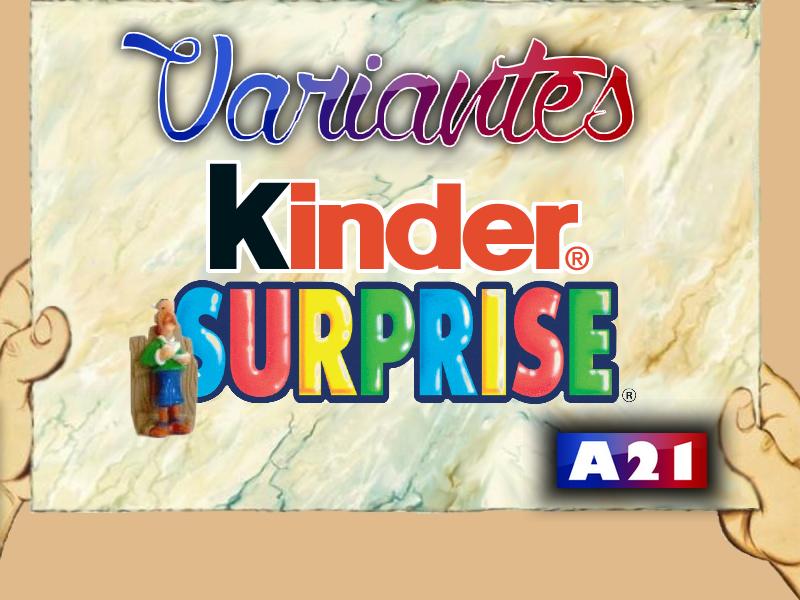 Astérix® les Variantes d'Hier et d'Aujourd'hui [Le Catalogue] 582824MarbrePrsentationKinderSurprise2012