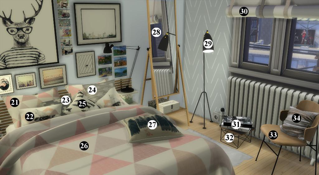 Appartement scandinave (let's build et téléchargement) 58285219en1024avecnumros