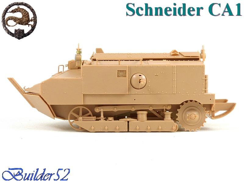 CHAR SCHNEIDER CA 1 - HOBBY BOSS 1/35 583714P1040928