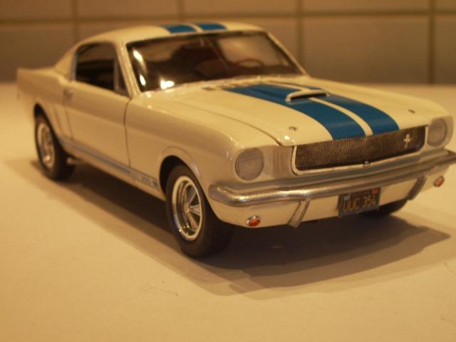 mustang shelby 350 GT 1965  kit monogram 1/24 . 585468IMGP3061