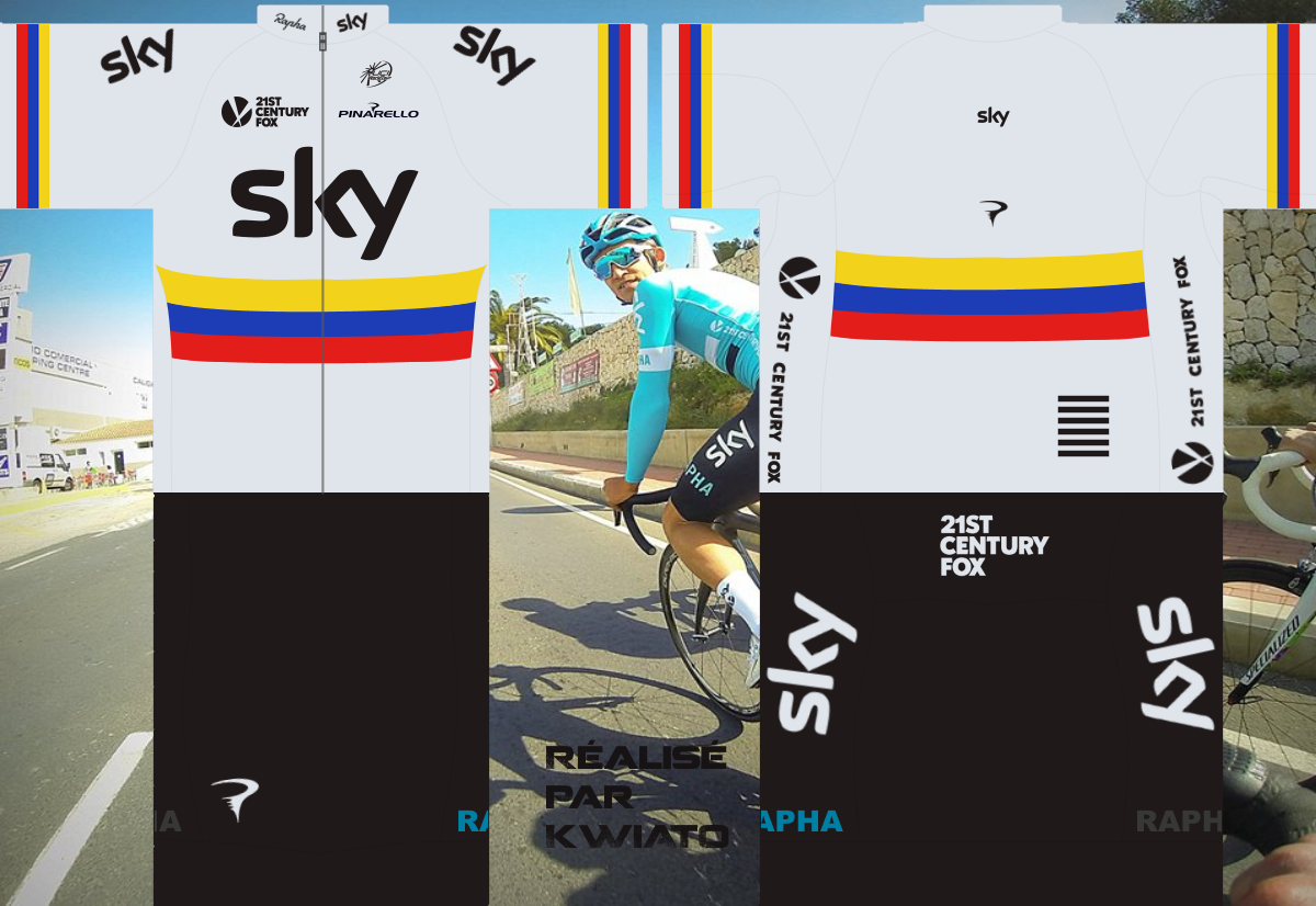 SKY Pro Cycling 586723skymaillotcol
