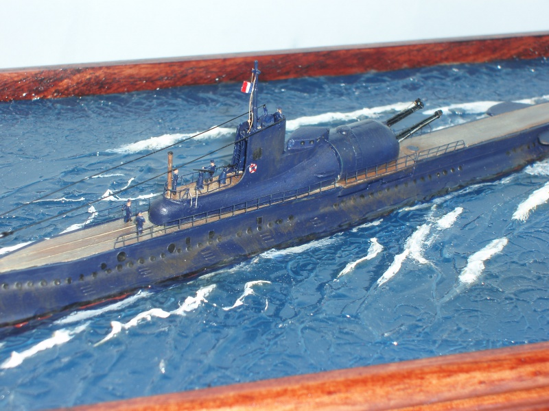Le sous-marin Surcouf en 1938 . 586828dio043