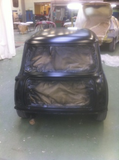 Restauration Mini Austin 1300 Injection 587303IMG4360