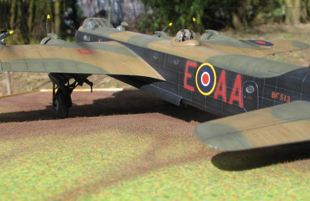 Short Stirling MkIII BF-513 Italeri 1/72, 2ème !!!!!....Terminé!!! - Page 4 587576IMG7149