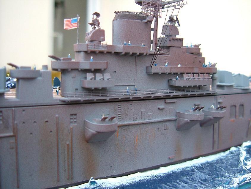 CV-9 USS ESSEX par Kagou 1/700 - Hasegawa + photodec 587770EssexCV97