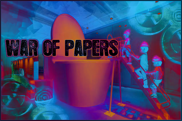 WAR 0F PAPERS