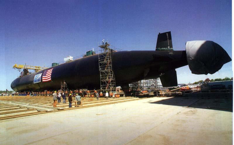 SSN 21 ET SSN 23 Seawolf Class 1/350 587994USSJimmyCarter