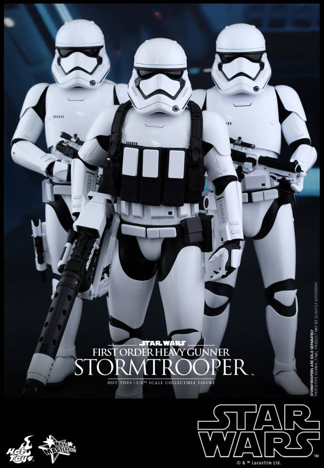 HOT TOYS - SW7: TFA - First Order Heavy Gunner Stormtrooper 588562105