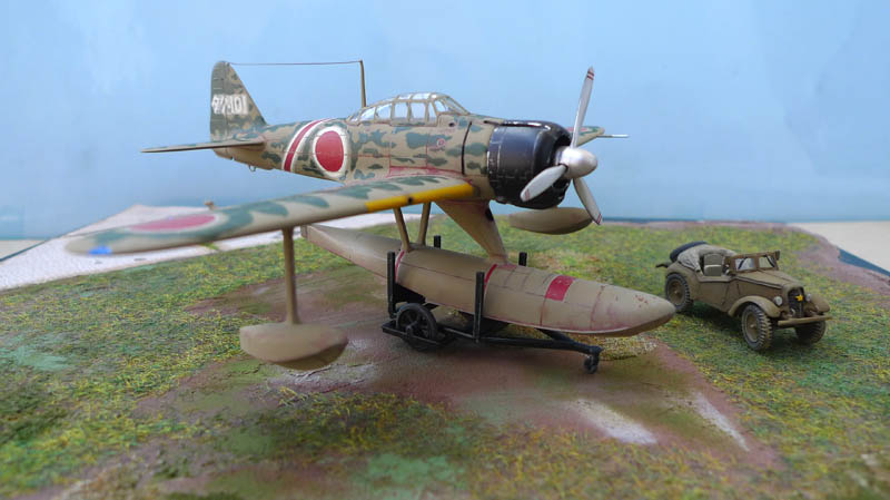 "[Hasegawa] - Nakajima A6M2 N ""Rufe"". 589567Rufe42"